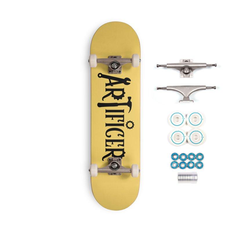 Artificer Accessories Complete - Basic Skateboard by RandomEncounterProductions's Artist Shop