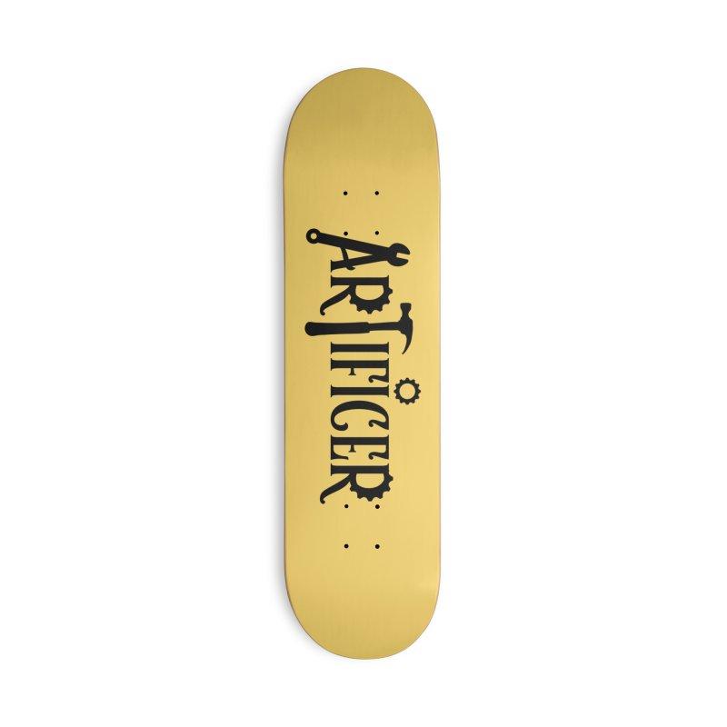 Artificer Accessories Deck Only Skateboard by RandomEncounterProductions's Artist Shop