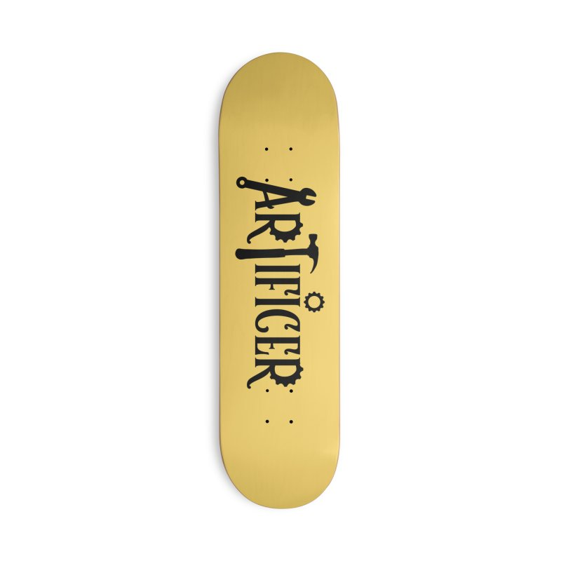 Artificer Accessories Skateboard by RandomEncounterProductions's Artist Shop