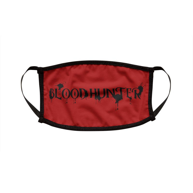 Blood Hunter Accessories Face Mask by RandomEncounterProductions's Artist Shop