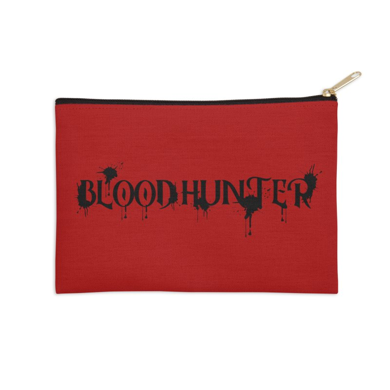 Blood Hunter Accessories Zip Pouch by RandomEncounterProductions's Artist Shop