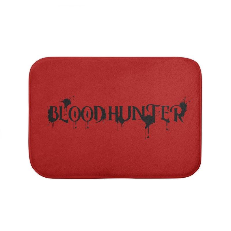 Blood Hunter Home Bath Mat by RandomEncounterProductions's Artist Shop