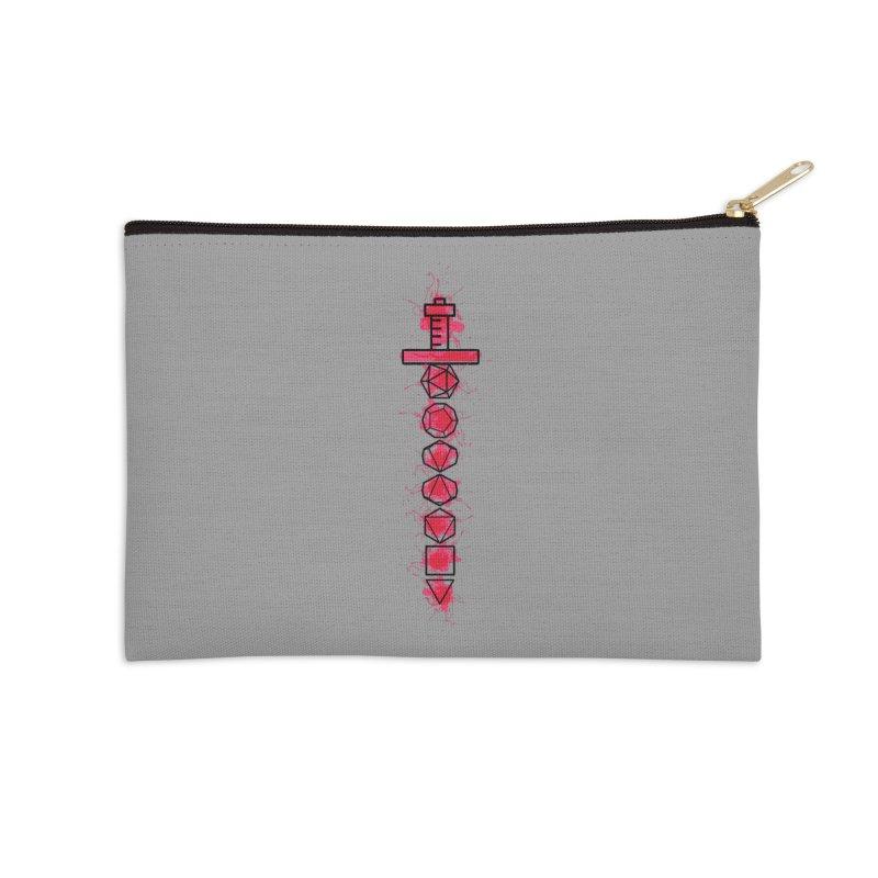 Sword of Wounding Accessories Zip Pouch by RandomEncounterProductions's Artist Shop