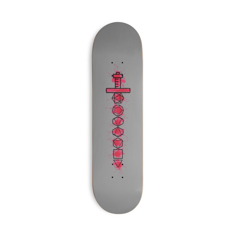 Sword of Wounding Accessories Deck Only Skateboard by RandomEncounterProductions's Artist Shop