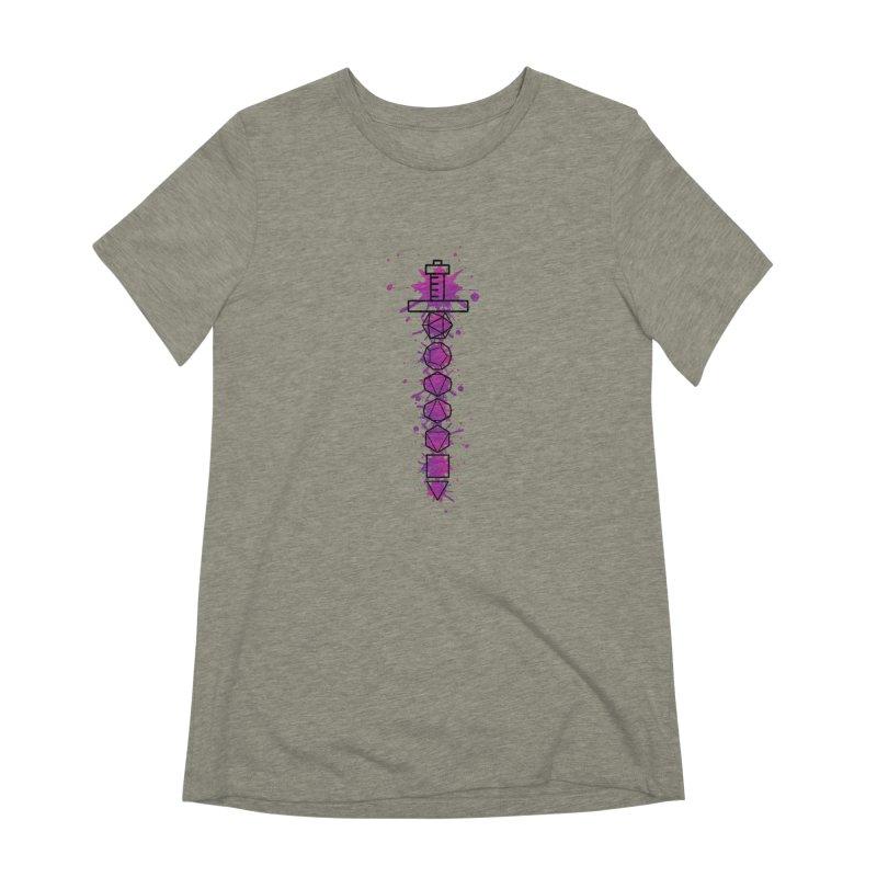 Eldritch Blade Women's Extra Soft T-Shirt by RandomEncounterProductions's Artist Shop