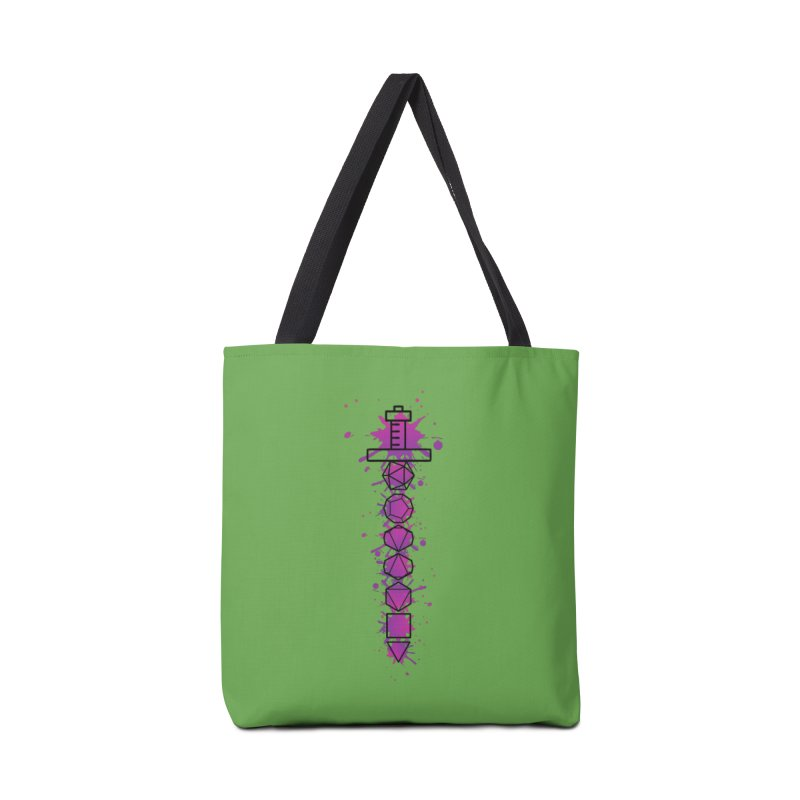 Eldritch Blade Accessories Tote Bag Bag by RandomEncounterProductions's Artist Shop