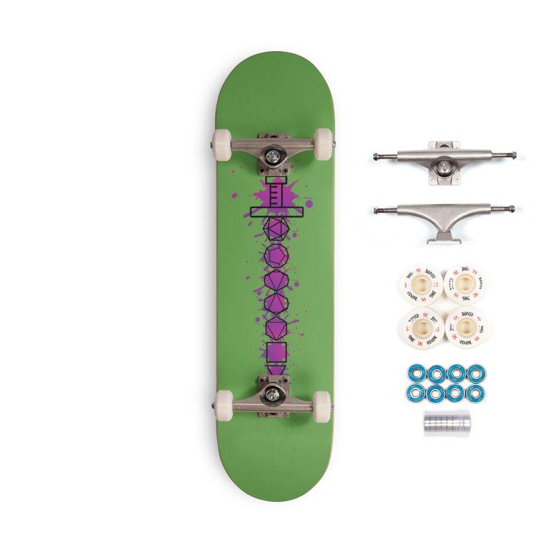 Eldritch Blade Accessories Complete - Premium Skateboard by RandomEncounterProductions's Artist Shop