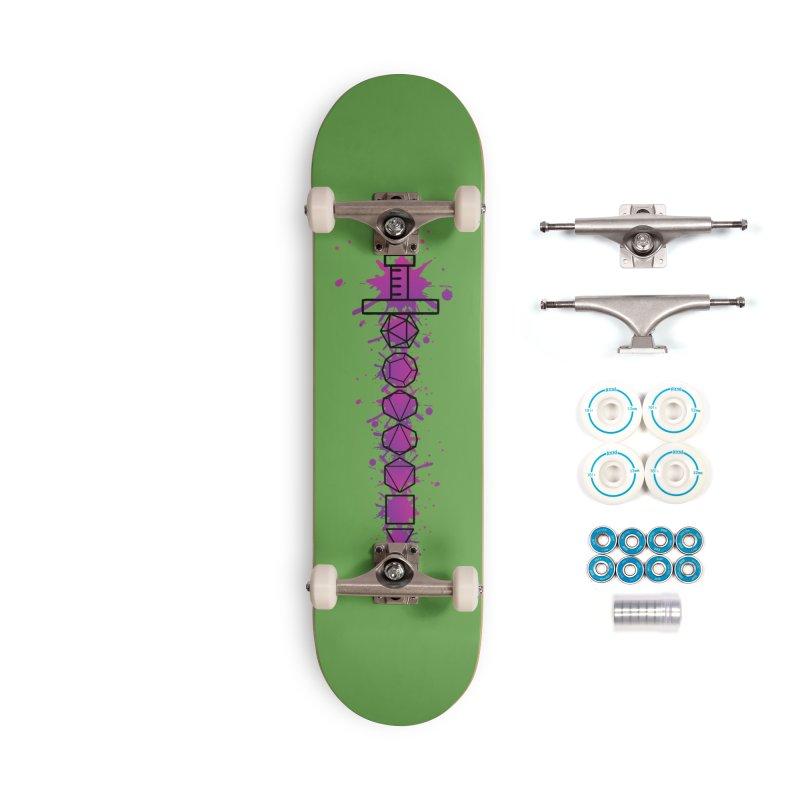 Eldritch Blade Accessories Complete - Basic Skateboard by RandomEncounterProductions's Artist Shop