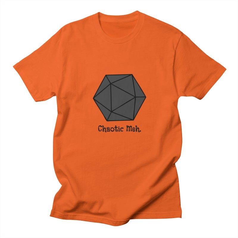 Chaotic Meh. Men's Regular T-Shirt by RandomEncounterProductions's Artist Shop