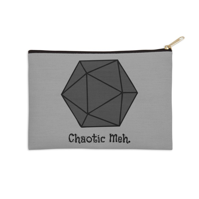 Chaotic Meh. Accessories Zip Pouch by RandomEncounterProductions's Artist Shop