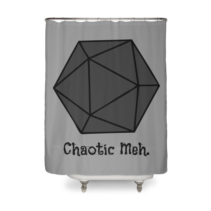 Chaotic Meh. Home Shower Curtain by RandomEncounterProductions's Artist Shop