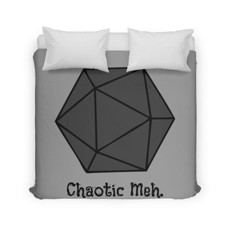 Chaotic Meh. Home Duvet by RandomEncounterProductions's Artist Shop