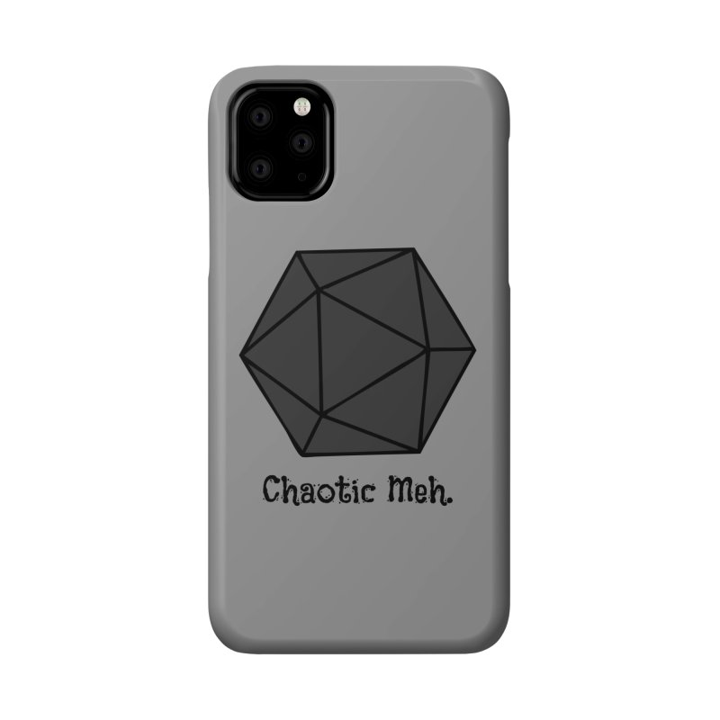 Chaotic Meh. Accessories Phone Case by RandomEncounterProductions's Artist Shop