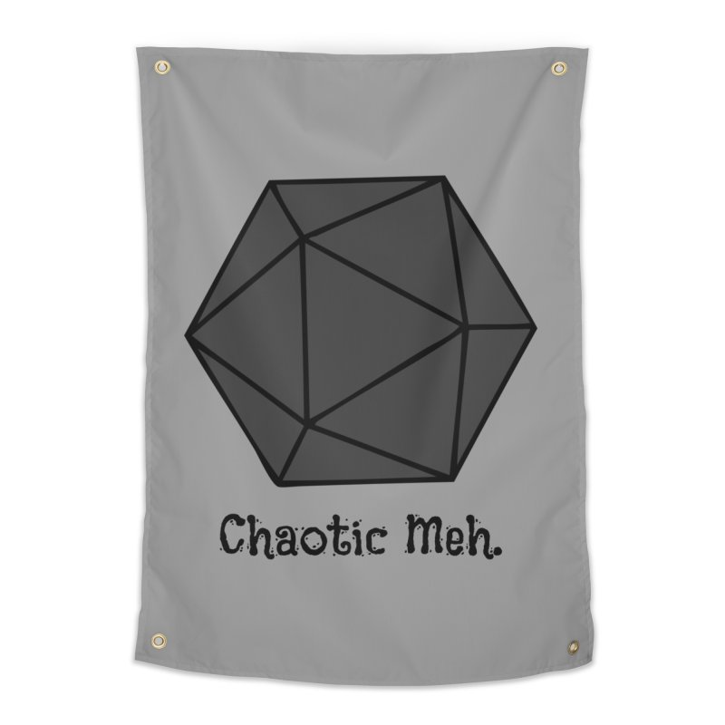 Chaotic Meh. Home Tapestry by RandomEncounterProductions's Artist Shop