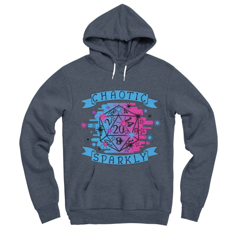 Chaotic Sparkly Men's Sponge Fleece Pullover Hoody by RandomEncounterProductions's Artist Shop