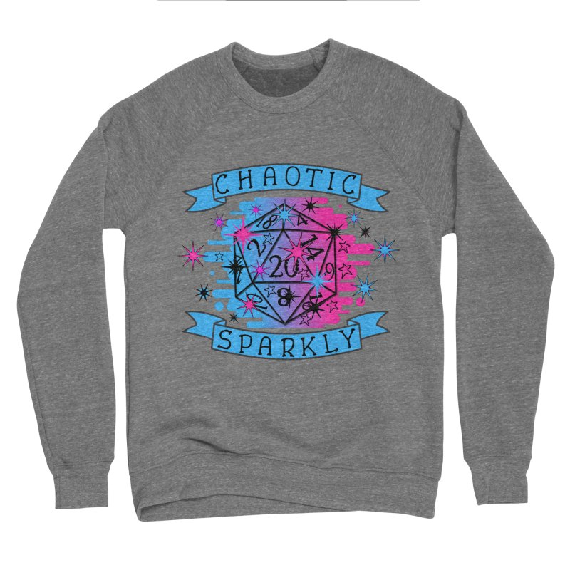 Chaotic Sparkly Men's Sponge Fleece Sweatshirt by RandomEncounterProductions's Artist Shop