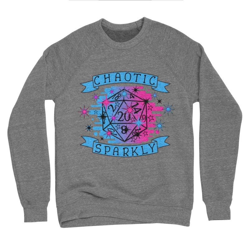 Chaotic Sparkly Women's Sponge Fleece Sweatshirt by RandomEncounterProductions's Artist Shop