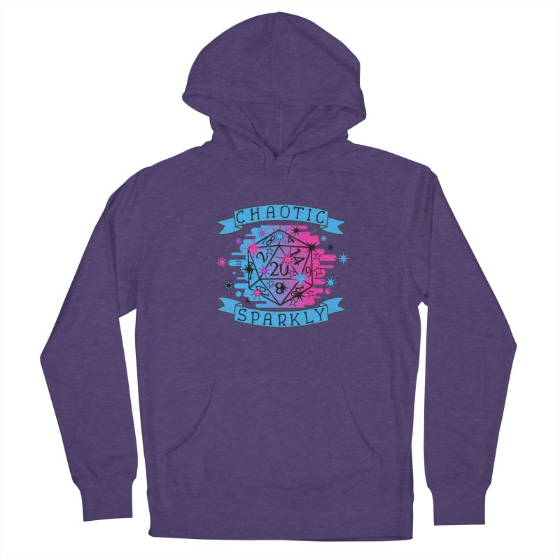 Chaotic Sparkly Women's French Terry Pullover Hoody by RandomEncounterProductions's Artist Shop