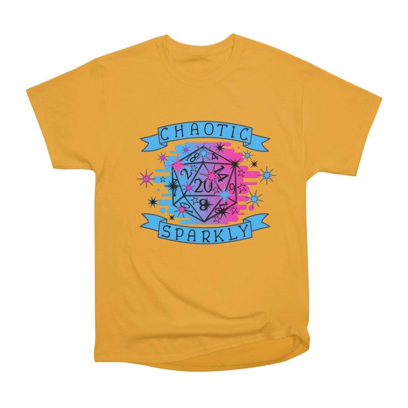 Chaotic Sparkly Men's Heavyweight T-Shirt by RandomEncounterProductions's Artist Shop