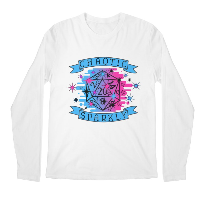 Chaotic Sparkly Men's Regular Longsleeve T-Shirt by RandomEncounterProductions's Artist Shop