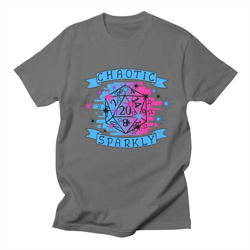 Chaotic Sparkly Men's T-Shirt by RandomEncounterProductions's Artist Shop