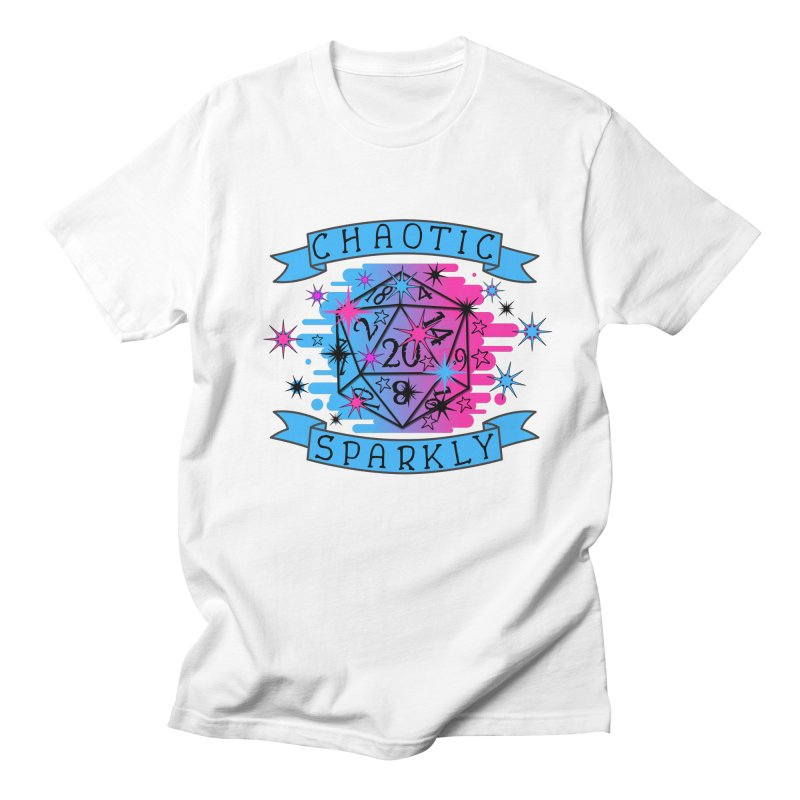 Chaotic Sparkly Men's Regular T-Shirt by RandomEncounterProductions's Artist Shop