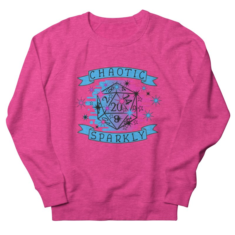 Chaotic Sparkly Women's French Terry Sweatshirt by RandomEncounterProductions's Artist Shop
