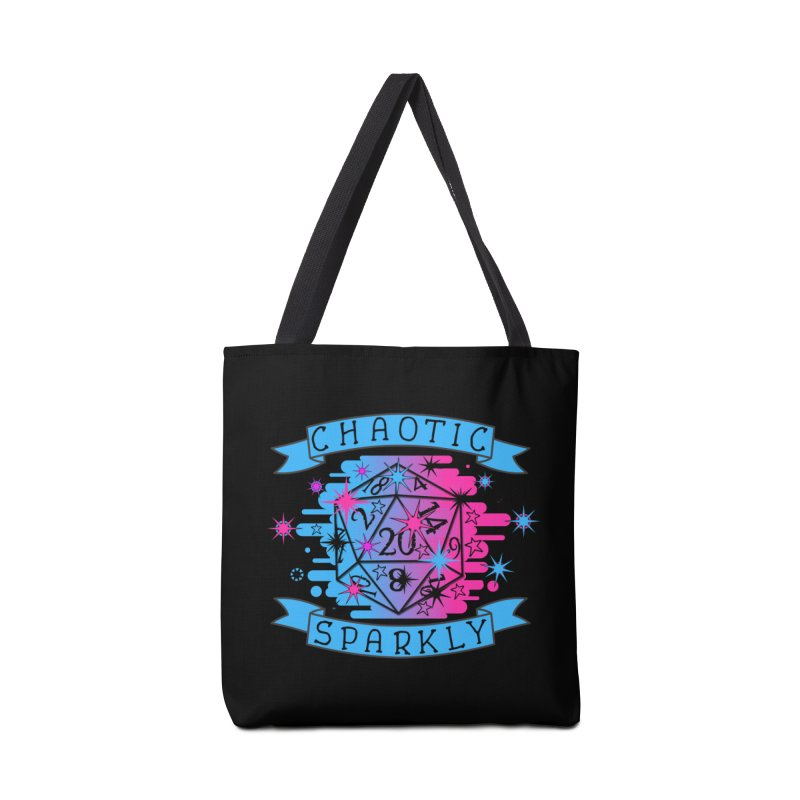Chaotic Sparkly Accessories Tote Bag Bag by RandomEncounterProductions's Artist Shop