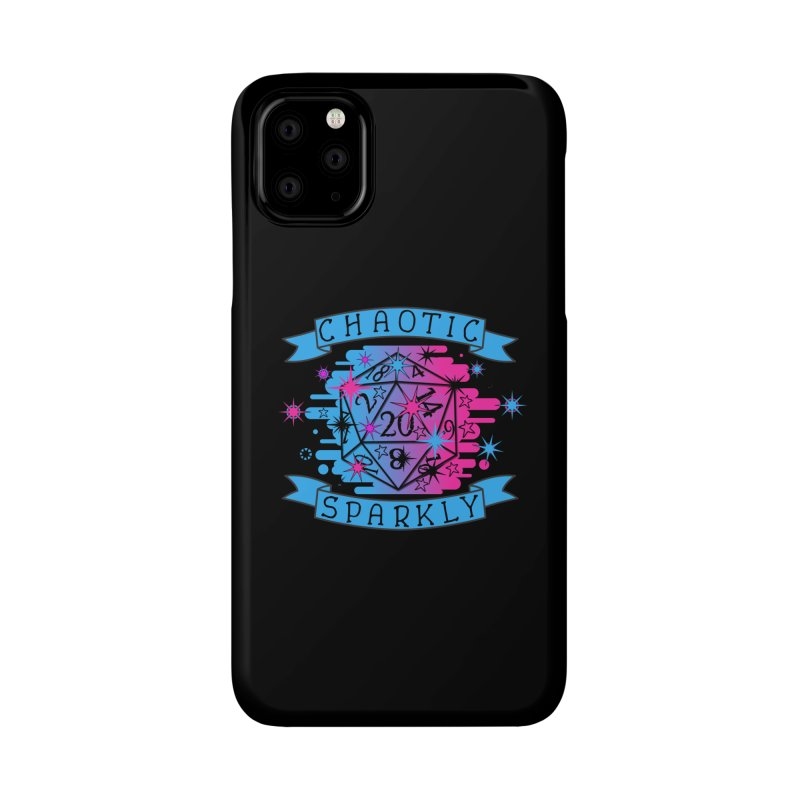 Chaotic Sparkly Accessories Phone Case by RandomEncounterProductions's Artist Shop