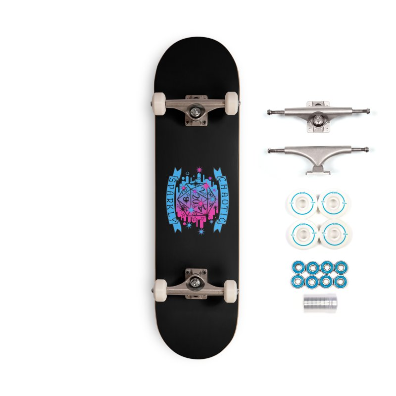 Chaotic Sparkly Accessories Complete - Basic Skateboard by RandomEncounterProductions's Artist Shop