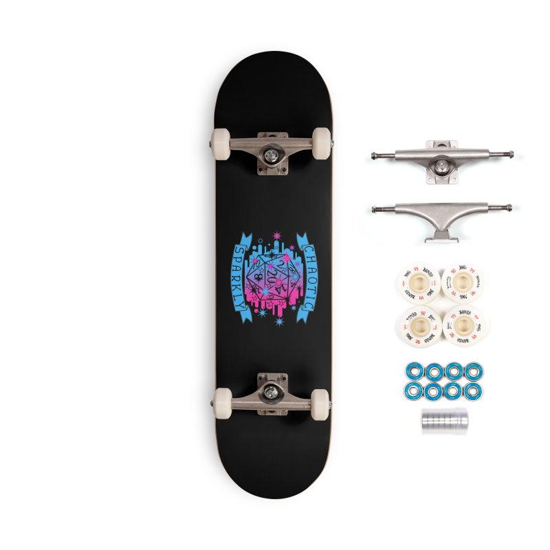 Chaotic Sparkly Accessories Complete - Premium Skateboard by RandomEncounterProductions's Artist Shop