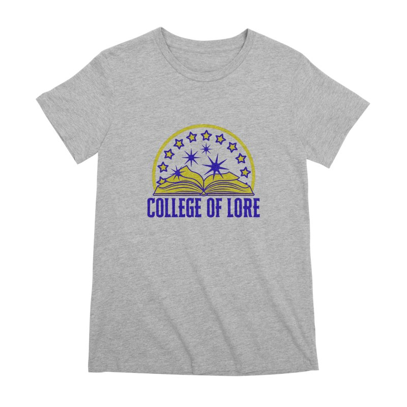 College of Lore Women's Premium T-Shirt by RandomEncounterProductions's Artist Shop