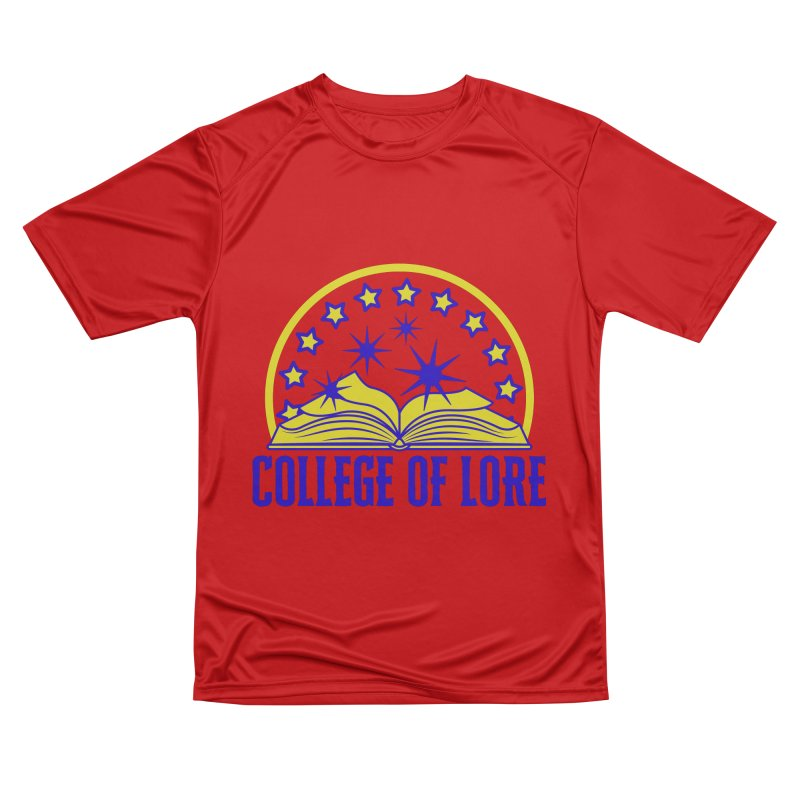 College of Lore Women's Performance Unisex T-Shirt by RandomEncounterProductions's Artist Shop