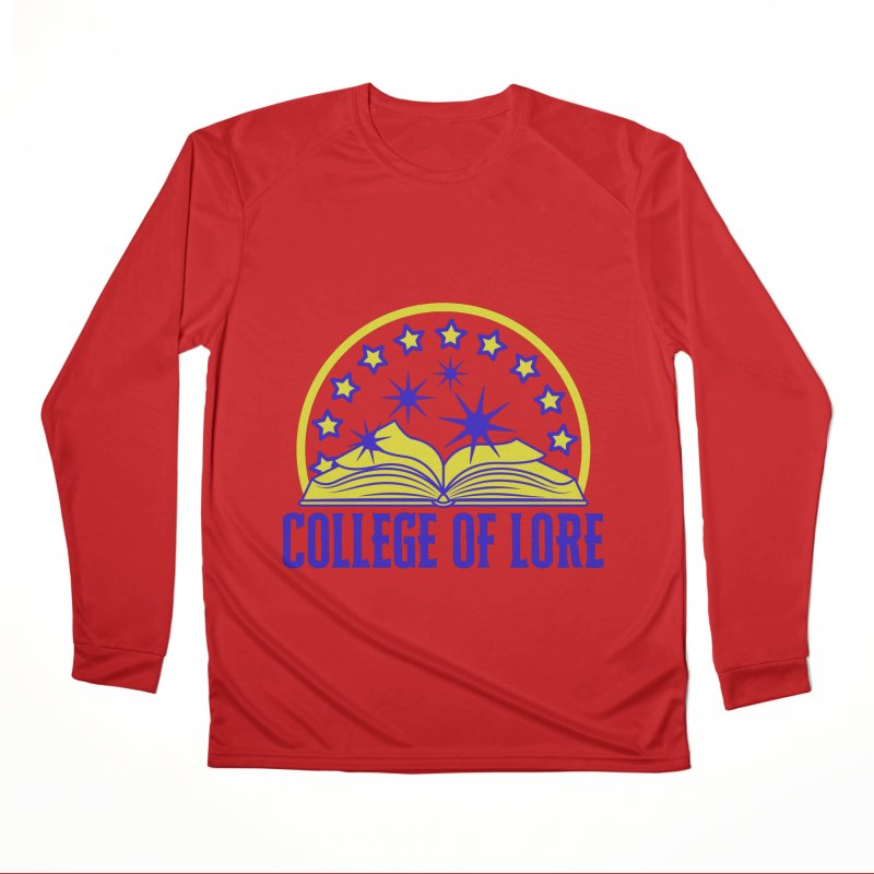 College of Lore Men's Performance Longsleeve T-Shirt by RandomEncounterProductions's Artist Shop