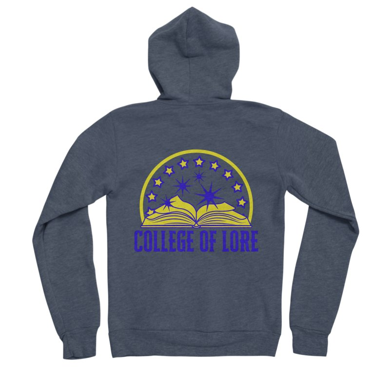 College of Lore Women's Sponge Fleece Zip-Up Hoody by RandomEncounterProductions's Artist Shop