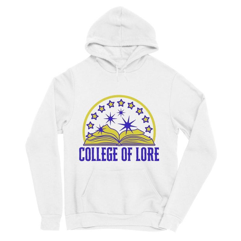 College of Lore Women's Sponge Fleece Pullover Hoody by RandomEncounterProductions's Artist Shop