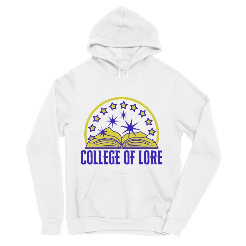 College of Lore Men's Sponge Fleece Pullover Hoody by RandomEncounterProductions's Artist Shop