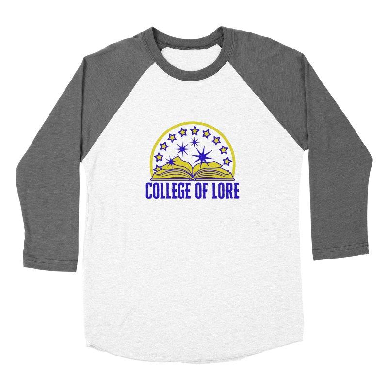 College of Lore Women's Baseball Triblend Longsleeve T-Shirt by RandomEncounterProductions's Artist Shop