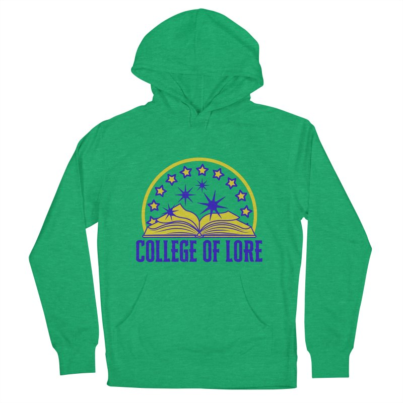 College of Lore Men's French Terry Pullover Hoody by RandomEncounterProductions's Artist Shop