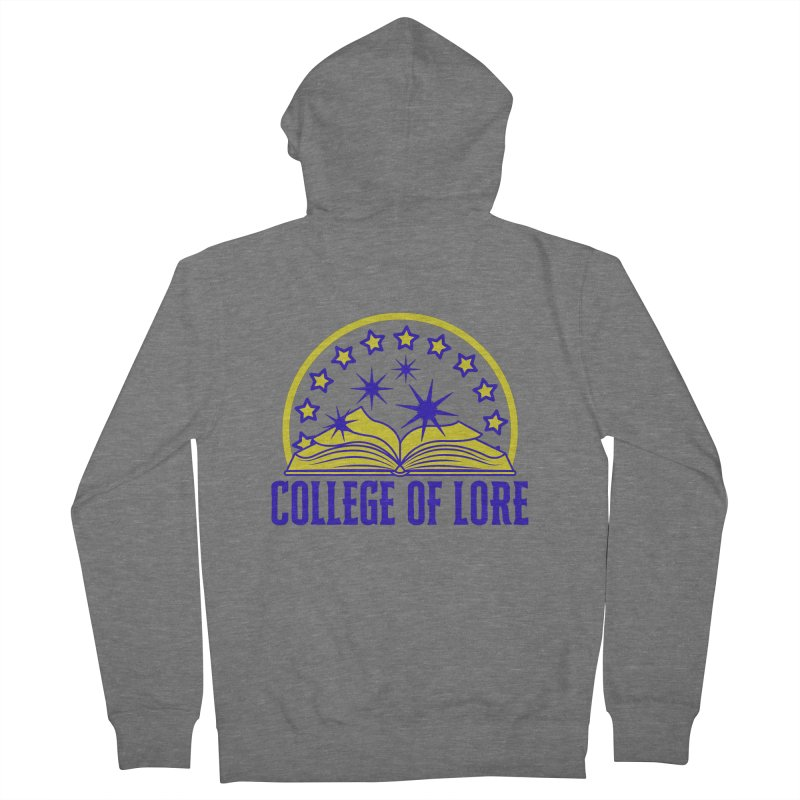 College of Lore Women's French Terry Zip-Up Hoody by RandomEncounterProductions's Artist Shop