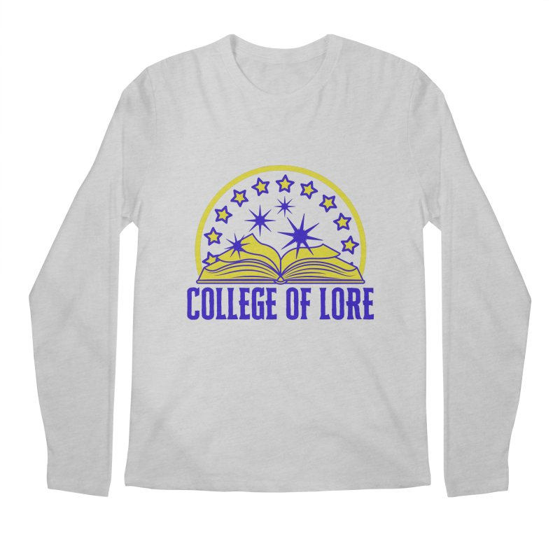 College of Lore Men's Regular Longsleeve T-Shirt by RandomEncounterProductions's Artist Shop