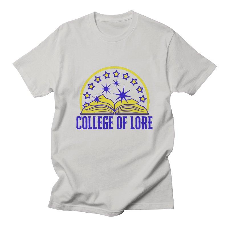 College of Lore Men's Regular T-Shirt by RandomEncounterProductions's Artist Shop