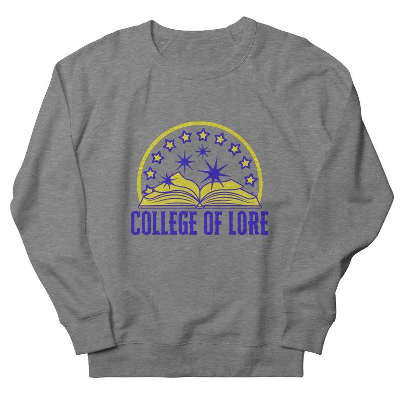 College of Lore Women's French Terry Sweatshirt by RandomEncounterProductions's Artist Shop