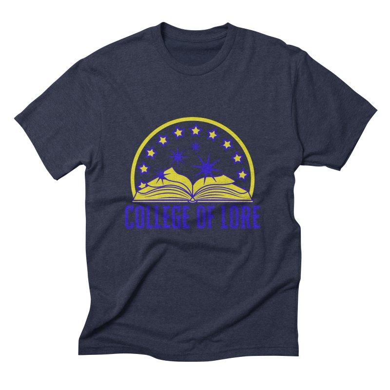 College of Lore Men's Triblend T-Shirt by RandomEncounterProductions's Artist Shop