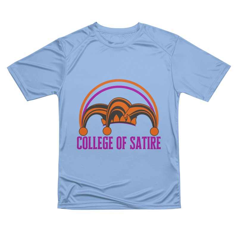 College of Satire Men's Performance T-Shirt by RandomEncounterProductions's Artist Shop