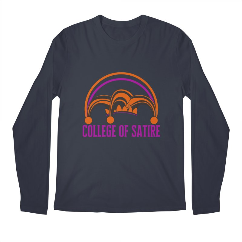 College of Satire Men's Regular Longsleeve T-Shirt by RandomEncounterProductions's Artist Shop