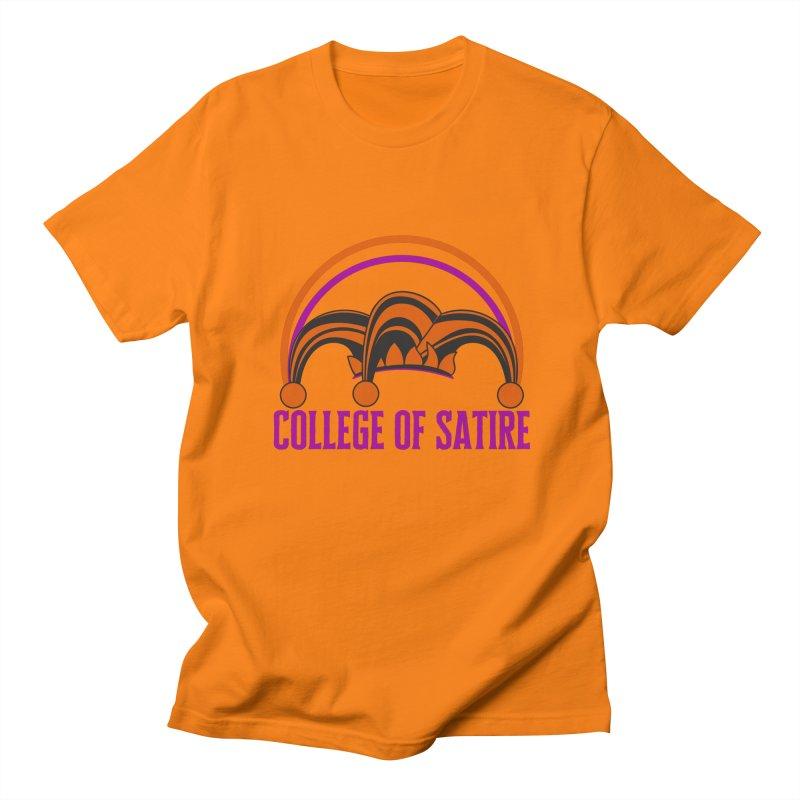 College of Satire Men's Regular T-Shirt by RandomEncounterProductions's Artist Shop