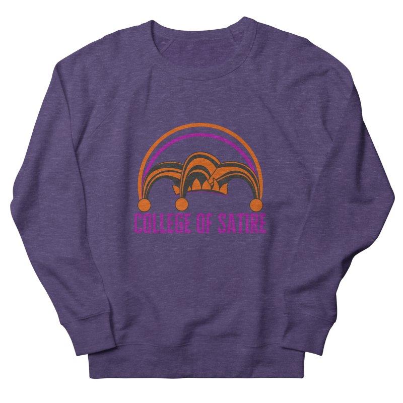 College of Satire Women's French Terry Sweatshirt by RandomEncounterProductions's Artist Shop