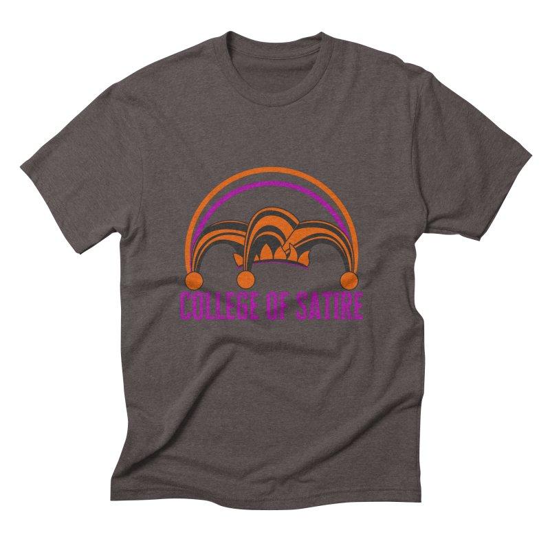 College of Satire Men's Triblend T-Shirt by RandomEncounterProductions's Artist Shop