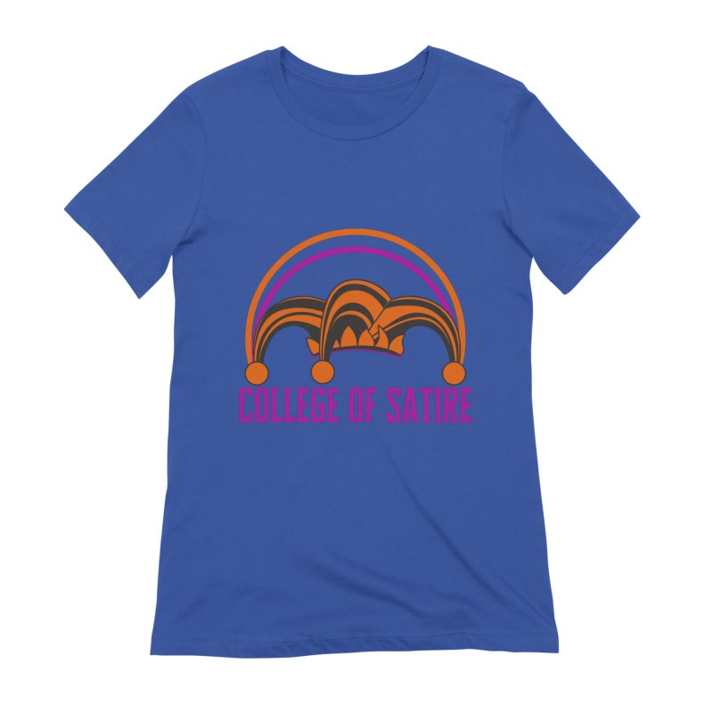College of Satire Women's T-Shirt by RandomEncounterProductions's Artist Shop